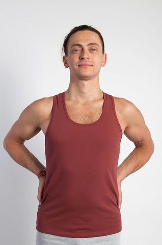 Футболка мужская Fox YogaDress