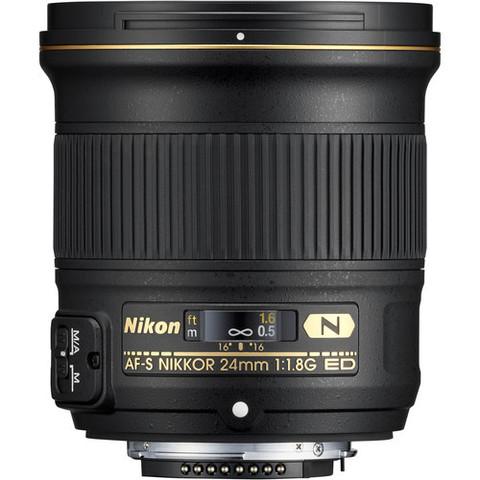 Объектив Nikon AF-S 24mm f/1.8G ED Black для Nikon