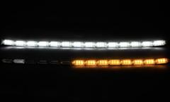 Ходовые огни Lexus Style +бегущий поворотники 50см LED NEW  комп.
