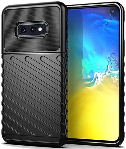 Чехол Samsung Galaxy S10e цвет Black (черный), серия Onyx, Caseport