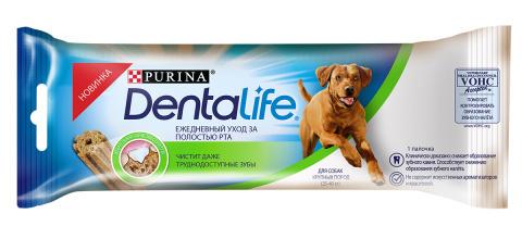 DENTALIFE Single лакомство для собак крупных пород 35.5г