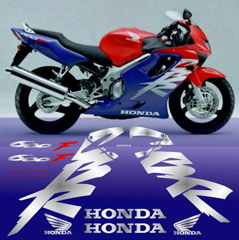Набор виниловых наклеек на мотоцикл HONDA CBR 600 F 1999-2000