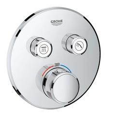 Термостат встраиваемый на 2 потребителя Grohe Grohtherm SmartControl 29119000 фото