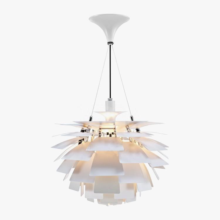 Подвесной светильник PH Artichok by Louis Poulse D40 (белый)
