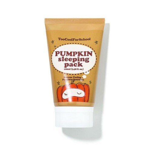 Ночная маска Too Cool for School Pumpkin Sleeping Pack