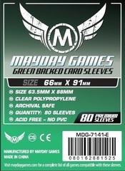 Протекторы Mayday: 66*91мм (Green Backed) (80)