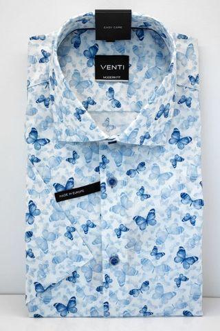 VENTI MODERN FIT сорочка с коротким рукавом