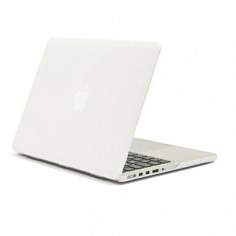 Накладка пластик MacBook Pro Retina 13.3 (2020) /matte white/ DDC