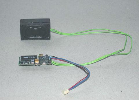 Piko 56198 Звуковой модуль для дизельных пригородных поездов GTW2/6