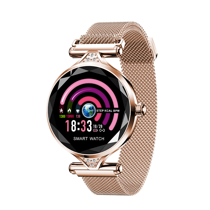 Умные часы и браслеты Женские смарт часы H1 H1-зол.jpg