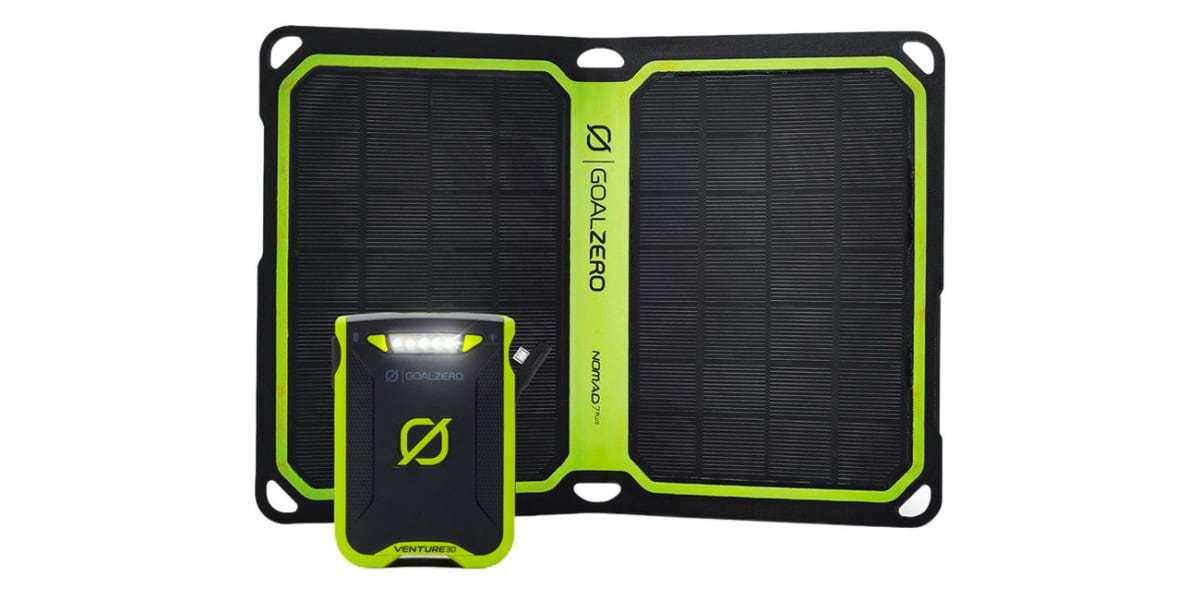 Зарадный комплект Goal Zero Venture 30 Solar Kit (с Nomad 7+)