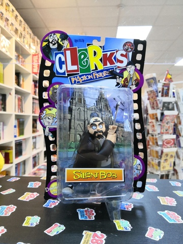 Clerks InAction Figures Silent Bob (Jay&Silent Bob)