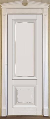 Межкомнатная дверь Violetta 21.2 под стекло