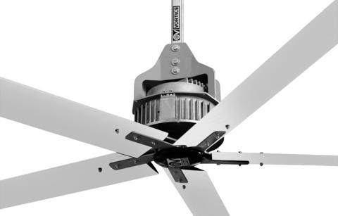 Потолочный вентилятор Vortice Nordik HVLS Super Blade 500/200