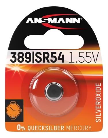 Батарейка для часов 389/390/SR54 ANSMANN 1.55V