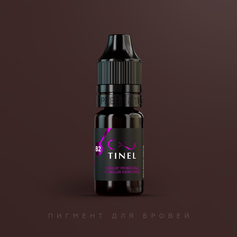 Пигмент Tinel B2 Темный шоколад