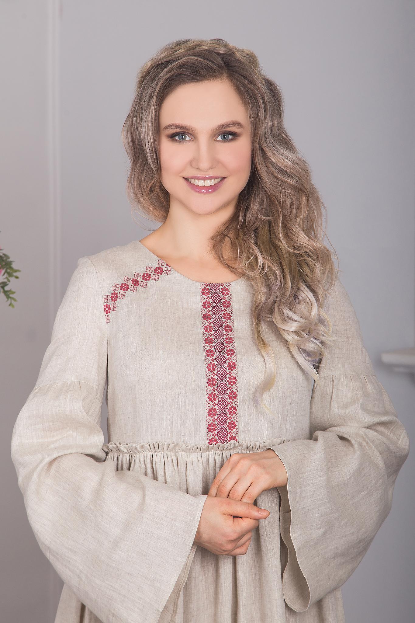Капитанская дочка - одежда в русском стиле фото