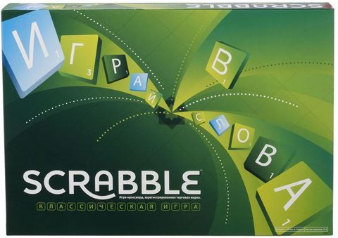 Настольная игра Скрабл (Scrabble)