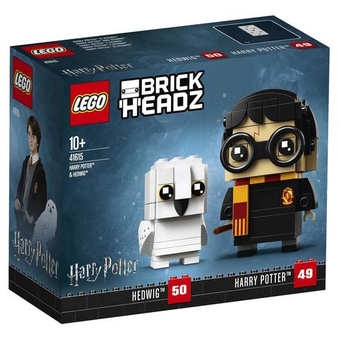 LEGO BrickHeadz: Гарри Поттер и Букля 41615 — Harry Potter & Hedwig — Лего БрикХедз