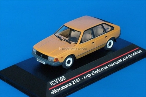 Moskvich-2141 pre-production movie Forgotten Melody for Flute 1:43 ICV105