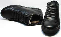 Ботинки на зиму мужские Ridge 6051 X-16Black