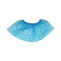 Бахилы одноразовые полиэтиленовые Paramedicum текстурированные особо прочные 7 г голубые (25 пар в упаковке)