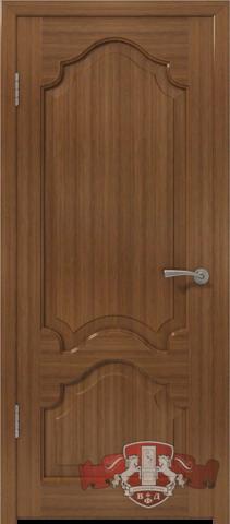 Дверь 11ДГ3 S (орех S, глухая шпонированная), фабрика Владимирская фабрика дверей