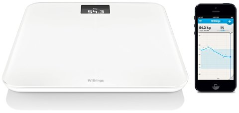 Умные весы Withings WBS06 white