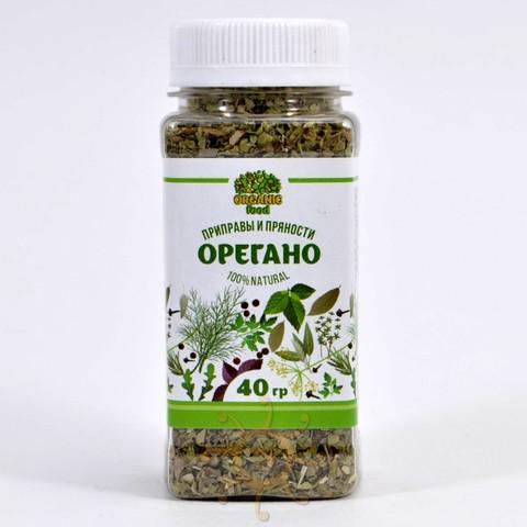 Орегано зелень сушеная Organic Food, 40г