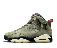Travis Scott x Air Jordan 6 'Medium Olive'