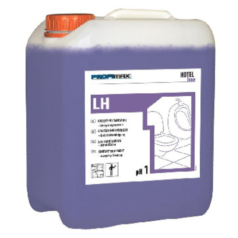 Средство для ежедневной чистки санитарного оборудования Lakma Profimax LH1 5 л (концентрат)