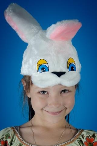 Карнавальная шапочка Зайка