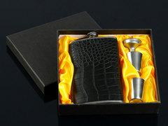 Подарочный набор «Крокодил», черный, фото 1