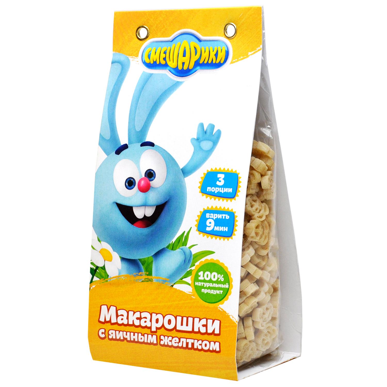 Макарошки с Яичным Желтком СМЕШАРИКИ 250 гр
