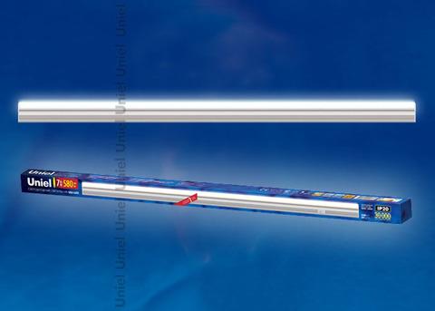 ULI-L02-7W-4200K-SL Линейный светильник LED (аналог Т5), 580Lm, 4200K, выключатель на корпусе.Цвет корпуса - серебристый.