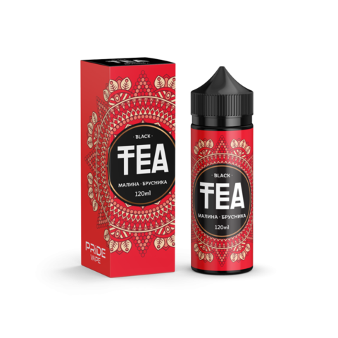 TEA Black - Малина-брусника 120 мл