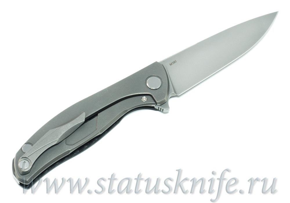 Нож Широгоров Хати М390 Карбон - фотография