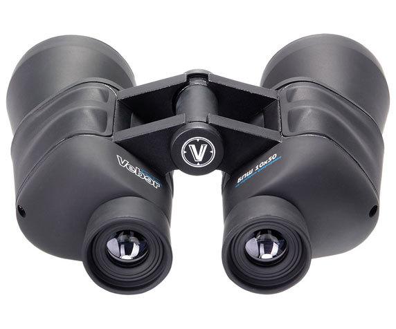 Бинокль Veber Free Focus БПШ 10x50: резиновые окуляры