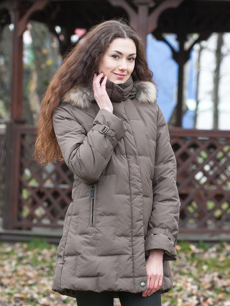 Joutsen пуховик Jenny Fur нутрия - Фото 1