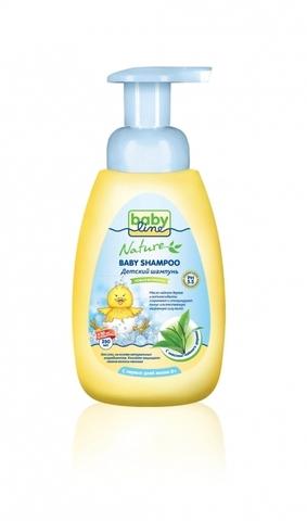 BABYLINE NATURE. Шампунь для младенцев с маслом чайного дерева 260 мл