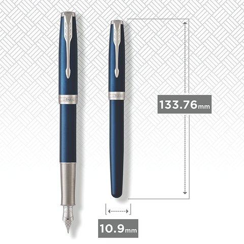 Перьевая ручка Parker Sonnet Subtle Blue Lacquer CT123