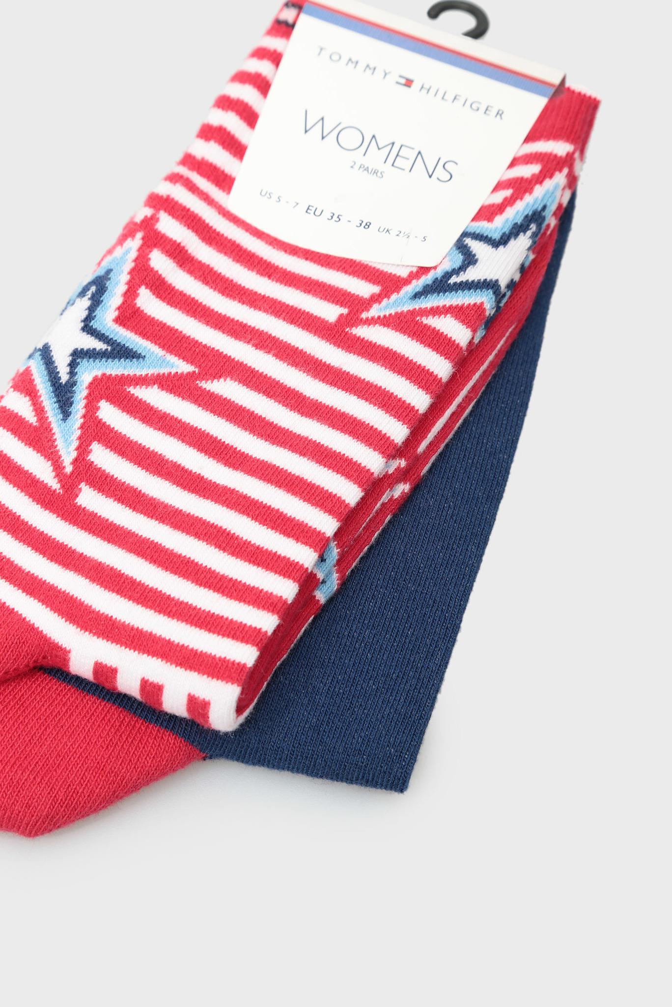Женские хлопковые носки STAR DENIM (2 пары) Tommy Hilfiger