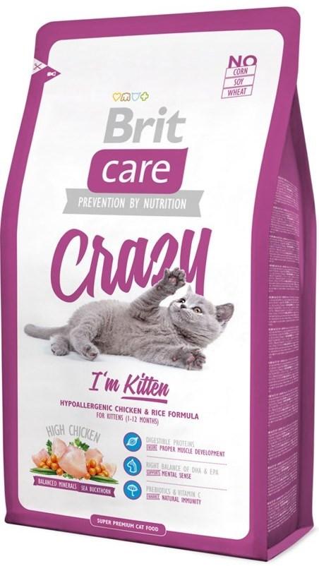 Brit Корм для котят, Brit Care Cat Crazzy Kitten, беременных/кормящих кошек киттен.jpg