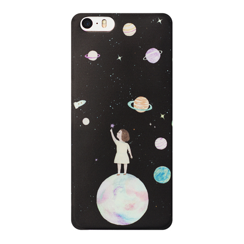 Чехол для Iphone A girl and A planet