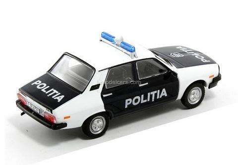 Dacia 1310 Police Romania 1:43 DeAgostini World's Police Car #52
