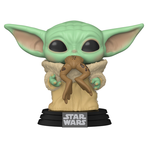 Фигурка Funko POP! Bobble: Star Wars: Mandalorian: The Child w/Frog 49932