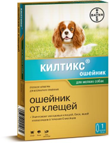 Байер Килтикс ошейник для мелких собак от блох и клещей 35см