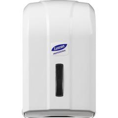 Диспенсер для туалетной бумаги лист Luscan Professional белый