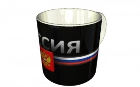 """Кружка """"Россия. Герб"""""""