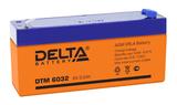 Аккумулятор Delta DTM 6032 ( 6V 3,2Ah / 6В 3,2Ач ) - фотография